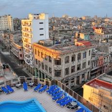 Blick vom Hotel Deauville, La Habana, Cuba