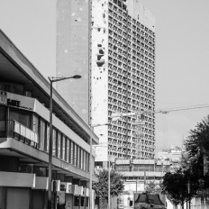 Beirut, former Holiday Inn Hotel