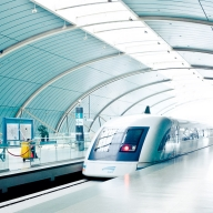 China, Shanghai, MAGLEV