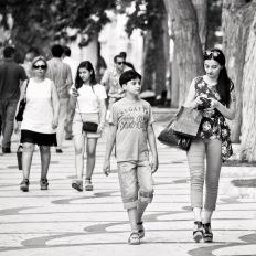 Baku, Fountain Square