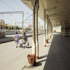 Baku, Central Railway Station