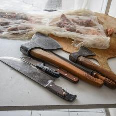 Baku, Nəsimi, the butchers tools