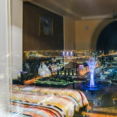 Room with a view, Astana, Kasachstan