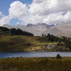 Kol Kogur See. Kirgistan