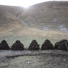 Shäferhof Urinbek beim Kol Kogur See, Kirgistan