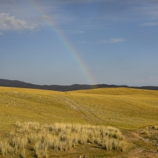 Gegend beim Kol Kogur See, Kirgistan
