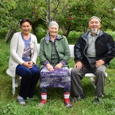Bilem und Mirbeks Haus in Tamchy, Kirgistan