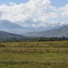 Von Jeti-Oguz nach Ton, Kirgistan