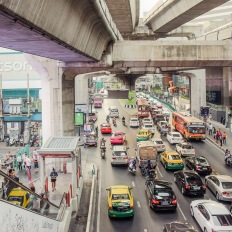 Bangkok, Sukhumvit, Siam BTS Station