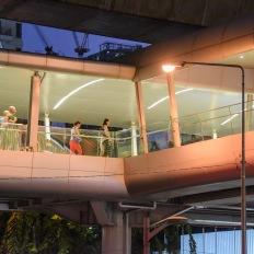 Bangkok, at Ploen Chit Station