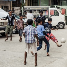 Myanmar, Yangon, Mingalar Zay