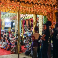"Myanmar, Bagan, novitiation ceremony ""Shin Pyu """