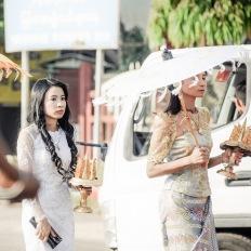 Myanmar, Pyay, Shin Pyu Ceremony