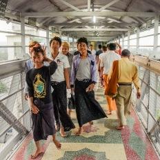 Myanmar, Pyay, Shwe San Daw Pagoda