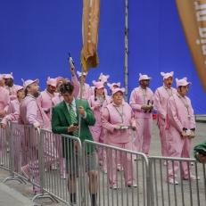 Okja Movie Set, New York