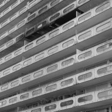 Paris, La Défense, Haus Damiers de Champagne