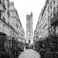 Paris, Chatelet, Tour Saint Jaques