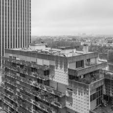 Paris, La Défense, Blick auf das Damiers D'Anjou Gebäude