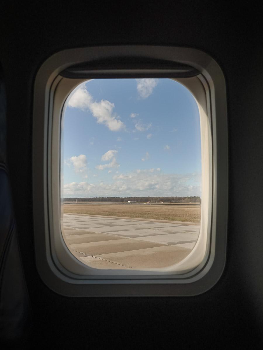 Air Baltic Flight Berlin - Riga