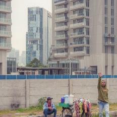 Jakarta, around Epicentrum XXI,