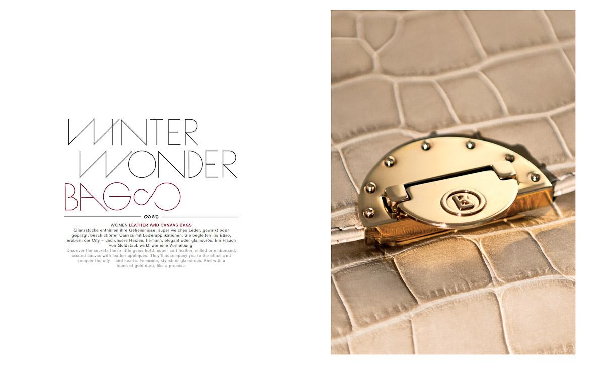 Photo Stephan Redel BOGNER Leather Winter 2012